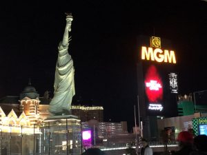 New York, New York tem várias atrações de Las Vegas