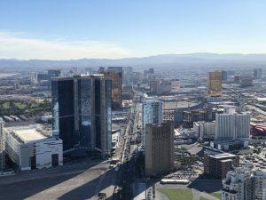 Vista 360° do Hotel Stratosphere em Las Vegas