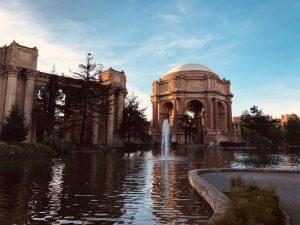 Palace of Fine Arts foi uma das atrações de San Francisco que mais gostamos
