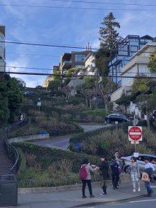 Lombard Street é uma das atrações de San Francisco
