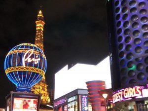 The Strip é uma das principais ruas de Las Vegas