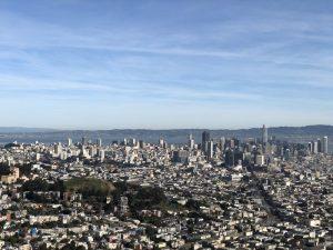 A vista do Twin Peaks é uma das atrações de San Francisco