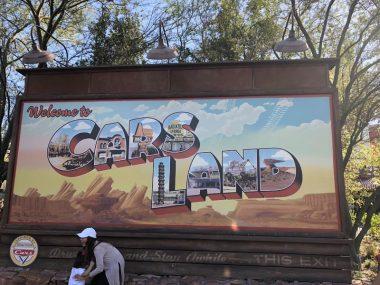 Cars Land Disney California