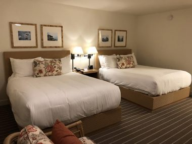 Quarto do hotel carmel california