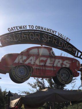 radiator springs disney california