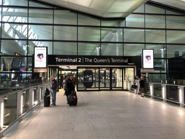 O aeroporto Heathrow