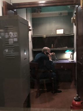 Churchill War Rooms, o escritório secreto