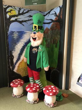 Leprechaun são os duentes, ícones da Irlanda