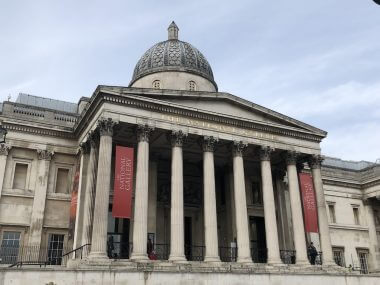 National Gallery, na Trafalgar Square