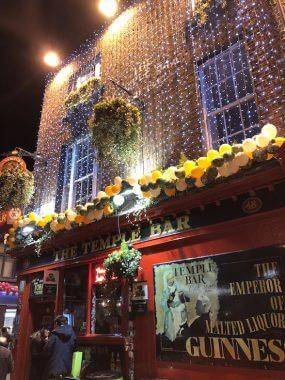 Dublin e a região de Temple Bar