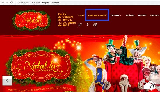 comprar ingresso para Natal Luz de Gramado