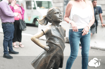 Estátua representando o poder feminino