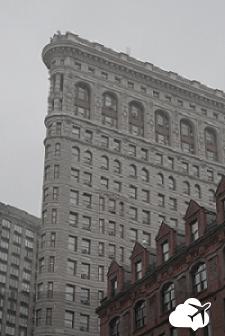 Flatiron Building, um prédio em forma de ferro de passar