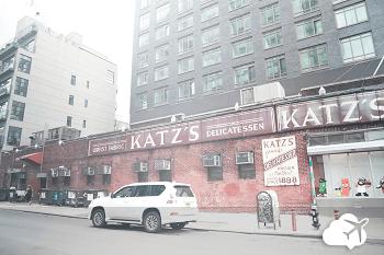 Katz Delicatessen cenário de filmes Nova York