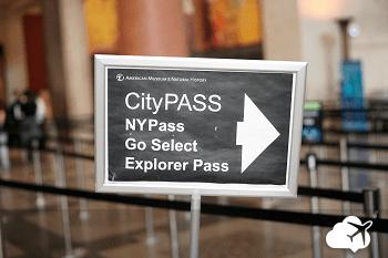 Placa do New York Pass